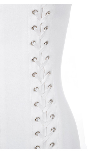white alessia dress